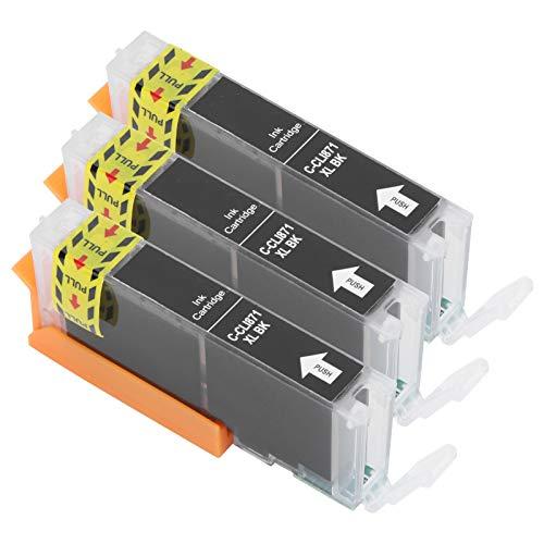 JADPES Cartucho de Tinta de Impresora, Accesorios de Impresora Tinta de Impresora para Impresora para reemplazo de Cartucho de Tinta(Black)