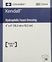 Kendall Copa Hydrophilic Foam Dressing - 4x4 Box of 10 - KND55544_BX by Kendall