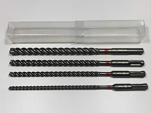 4 tlg. Hilti Bohrer SET - SDS PLUS - TE CX 6-8-10-12/220 mm Hammerbohrer