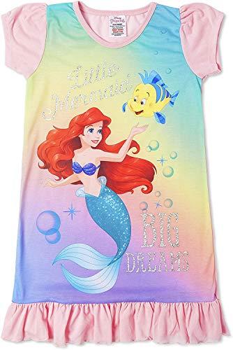 Disney Prinzessinnen-Nachthemd für Mädchen (7 bis 8 Jahre); Arielle, die Meerjungfrau