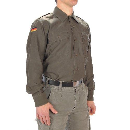 Bundeswehr Feldhemd oliv Langarm 45/46 (BW Gr. 6)