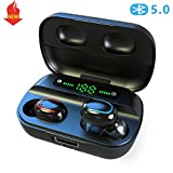 Auriculares Inalámbricos Bluetooth 5.0, Auriculares Inalámbricos HD...