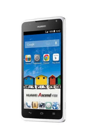 Huawei Ascend Y530 Smartphone (4,5 Zoll (11,4 cm) Touch-Display, 4 GB Speicher, Android 4.3) weiß
