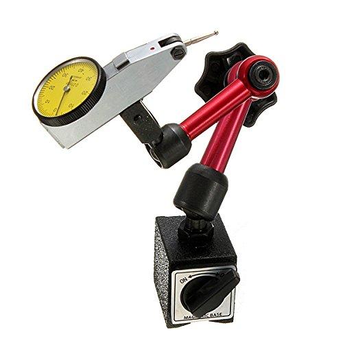 HELEISH Mini Flexibles Magnetfußhalter-Ständerwerkzeug for Messuhrentest Hilfsmittel
