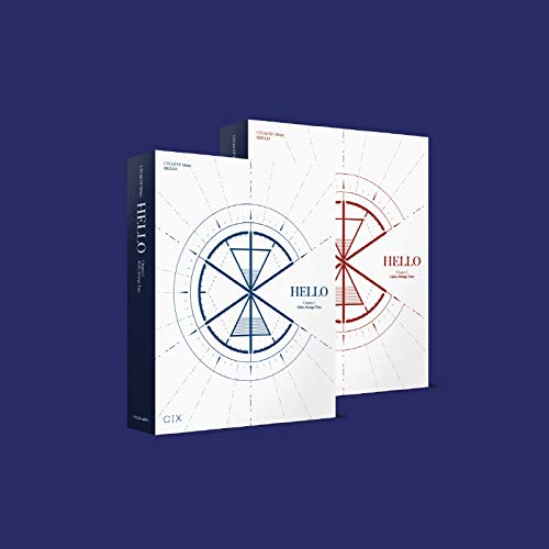 CIX - Hello Chapter 3. Hello, Strange Time (3rd Mini Album) Album+Folded Poster+Extra Photocards Set (Random ver.)