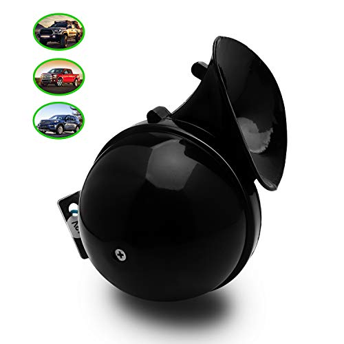 Carfka Snail Horn for Truck Car, Electric 12v Loud Train Horns for Pickup,Vehicles, Simple to Install, Motorcycle Jeep SUV Lorrys Boats