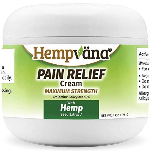 As Seen On TV Hempvana Pain Relief Cream with Cannabis Seed Extract Review
