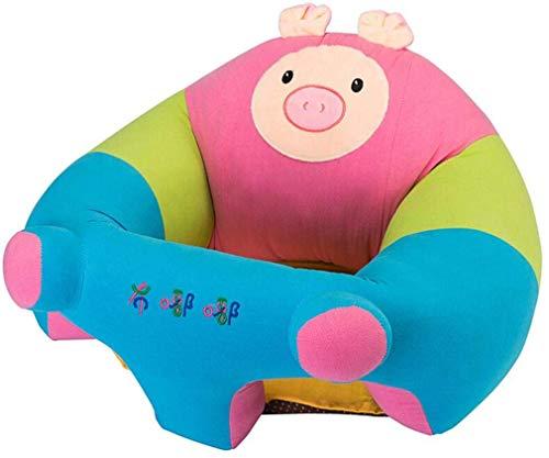 Xiang Furniture Aprendizaje de Asiento del sofá de heces Infantiles Respaldo Alimentos Suplemento Comedor Silla de Seguridad antivuelco XL Forma del Cerdo Niño (Color : Pig, Size : Large)