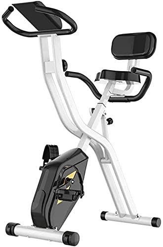 Bicicleta de ejercicio Control Magnético Hogar Pequeño Mute Control Magnético Spinning Bike Multifuncional Plegable Ejercicio Bicicleta Montar Negro