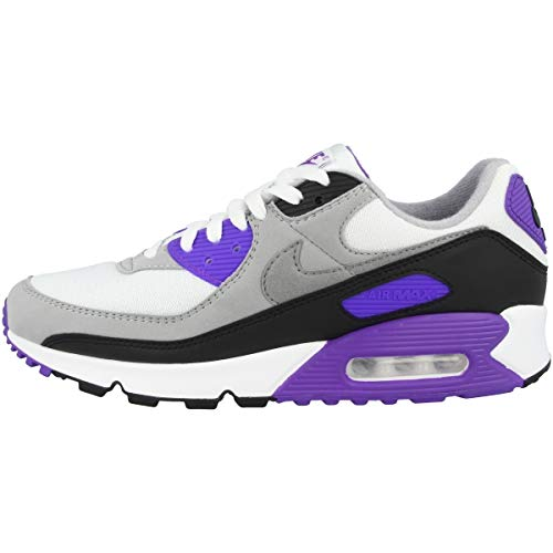 Nike Herren CD0881 Laufschuh, White Particle Grey Hyper Grape Black Lt Smoke Grey, 39 EU