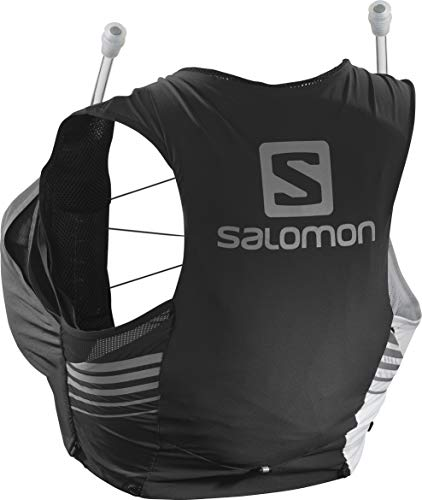 SALOMON Sense 5 Set Women LTD Edition Bolsa de hidratación, Mujeres, Black/White (Multicolor), XS