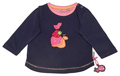 Sigikid Baby-Mädchen Langarmshirt, Mehrfarbig (Peacoat 260), (Herstellergröße: 86)