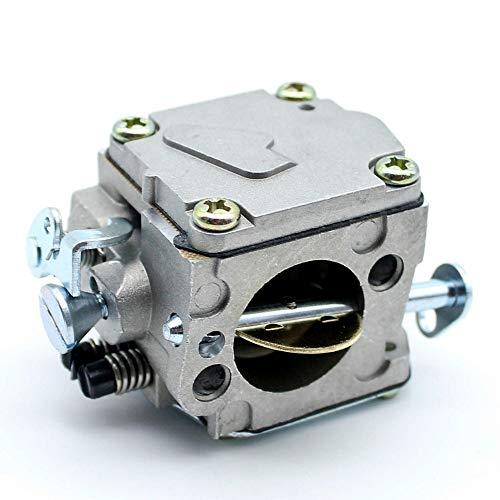 Haoyueda Carb carburador carburador compatible con Husqvarna 61 266 268 272 XP 272XP Reemplazo de motosierra Nuevo