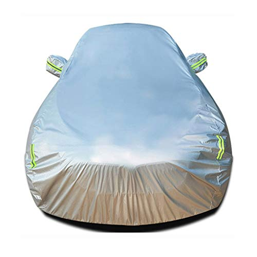 Compatible with Citroen Berlingo/Jumper Combi/SpaceTourer/C-ZERO Car Thickening Breathable Waterproof Protective Windshield Cover with Automobile Dust And Anti-ice Cover All-weather Car clothes