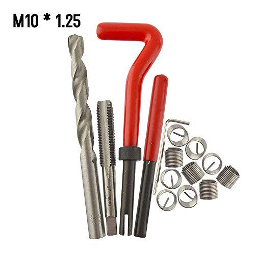 131 tlg Set Gewinde Reparatur M5 M6 M8 M10 M12 Bohrer Hülsen Gewindeschneider