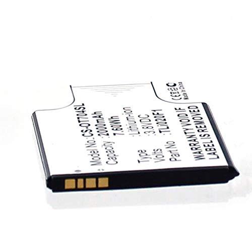 eVendix Akku kompatibel mit Alcatel One Touch Pop Star 5022D 3,00 Volt 2000 mAh 6,00 Wh Li-Ion Akku