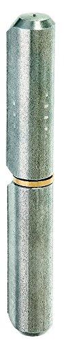 GAH-Alberts 414900 Anschweißrolle, zweiteilig, Stahl, roh, Ø20 / 160 mm / 1 Stück