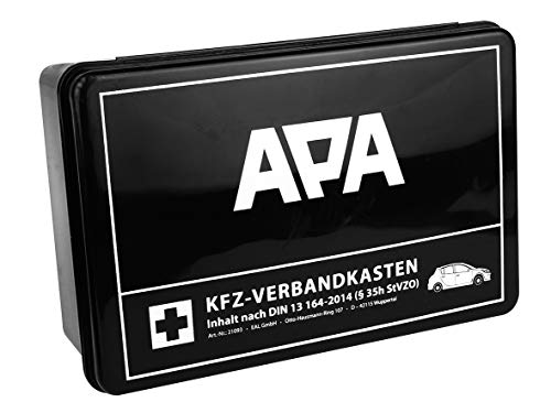 APA 21093 Boîte de Premiers Secours respectant la Norme DIN 13164
