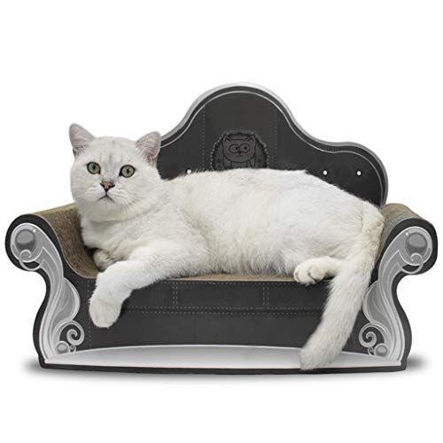 Cat Sofa Arranhador, Preto Catmypet para Gatos
