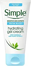 Simple Water Boost Hydrating Gel Cream, Face Moisturizer, 1.7 oz
