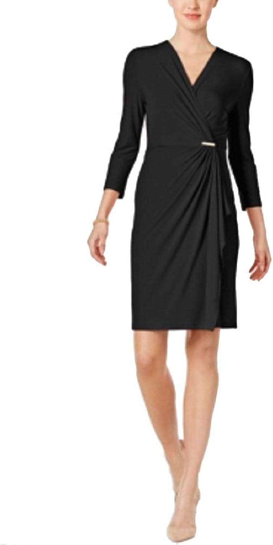 Charter Club Petite Credver Wrap Dress