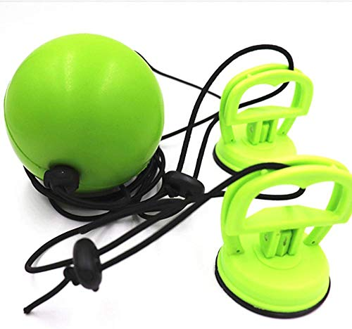 Bola de velocidad de boxeo tipo chupador, bola de rebote ajustable, utilizada para entrenamiento de velocidad de reacción, boxeo para adultos y Sanda