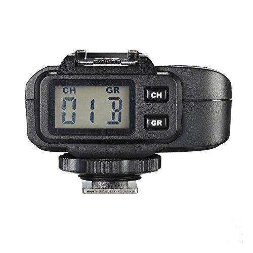 Godox x1r de c 32Selens Canales de 2,4GHz inalámbrico de Hot Shoe de Receptor de Flash Trigger para Canon DSLR 400d/500d Set/600D–Set/700d/60d/6d/70d/7d/760d/1d Set/5d/5d ii/5d III Juego Negro