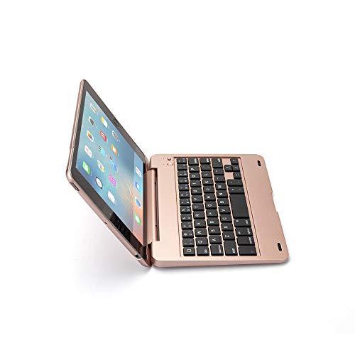 Xixihaha Portable Flip Bluetooth Keyboard For Ipad Mini1 2 3 Generation Wireless Bluetooth Keyboard Cover For Ipad Mini1 Mini2 Mini3 (Color : Rose Gold, Size : For Ipad mini 1 2 3)