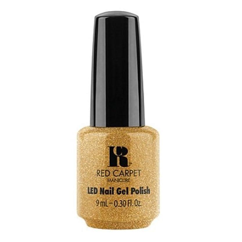 不測の事態水平比類なきRed Carpet Manicure - LED Nail Gel Polish - Glam & Gorge - 0.3oz / 9ml