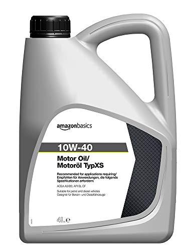 Amazon Basics – Motorenöl 10W-40 Typ XS, 4 l