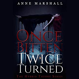 Once Bitten, Twice Turned audiobook cover art