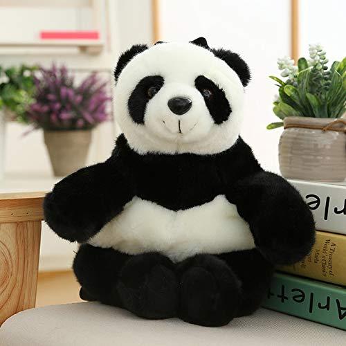 N / A Kuscheltier Rucksack Plüsch Tiger Panda Giraffe Plüsch Umhängetasche Geburtstagsgeschenk Kinder Kinder Plüsch Puppe 48x24cm