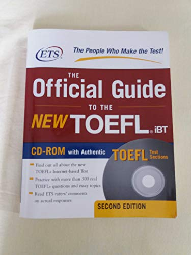 Title: The Official Guide to the New TOEFL Ibt