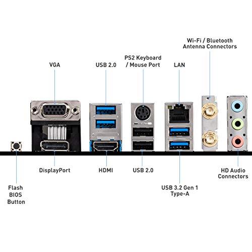 MSI B550M PRO-VDH WIFI Scheda madre mATX, AM4, DDR4, M.2, LAN, Wi-FI, USB 3.2 Gen1, Front Type-C, HDMI, DisplayPort, AMD RYZEN 3000 di terza generazione