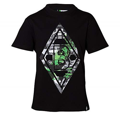 Borussia Mönchengladbach T-Shirt, Kinder Shirt Illu, 202164 (152)