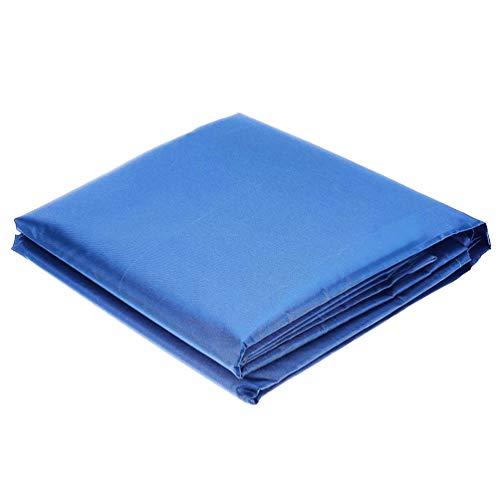 YARNOW Cubierta de Muebles Al Aire Libre Cubierta Impermeable para La Lluvia Mesa Muebles Silla Sofá Refugio para Patio Terraza (Azul)