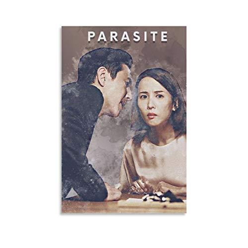 Premio de la Academia a la mejor película internacional coreana The Movie Parasite The President and His Wife Póster decorativo Lienzo decorativo para pared, para sala de estar, dormitorio, 40 x 60 cm