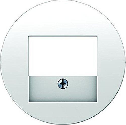 Hager 10382089–Deckel TAE RClassic weiß Polar glänzend