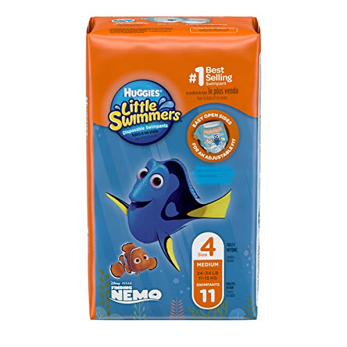 Product Image of the Huggies Little Swimmers Disposable Swimpants, Medium, Pack/11 Disney Character...
