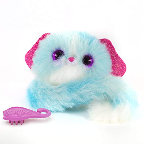 pomsies peluche Interactive cachorro Lulu, 82844, azul , color/modelo surtido