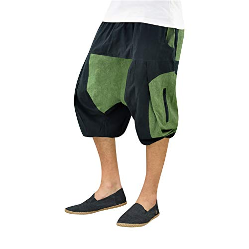 virblatt - Pantalones Cortos Hombre   100% algodón  ...