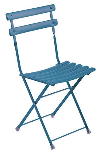 Emu Arc en Ciel Folding chair Item 314 color Petrol blue code 61