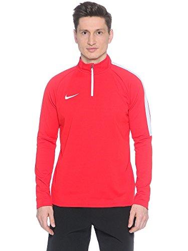 Nike Herren M Nk Dry Acdmy Dril Sweatshirt, Universität Rot/Weiß, S