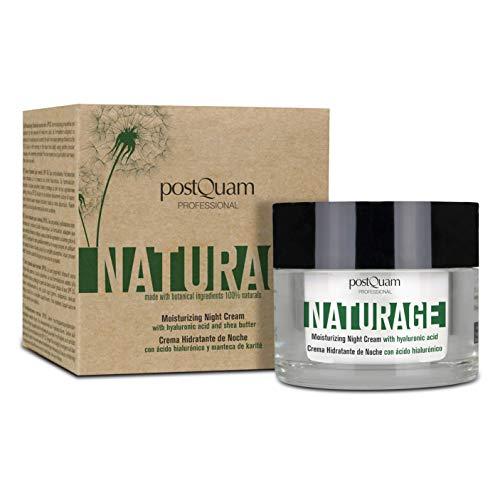 Postquam - Naturage | Crema Hidratante Piel Normal 100% Natural con Protector Solar SPF 30-50 ML
