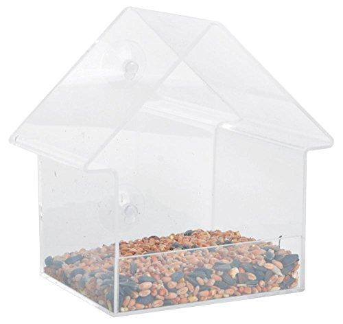 Esschert Design FB370Acryl Fenster Futterhaus