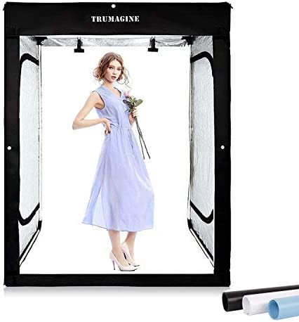 47x39x78 inch Professional Photography LED Studio Large Lightbox Dimmable Photo Video Continuous product image