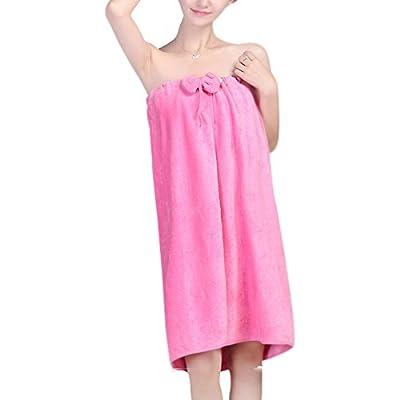 Microfiber Bath Towel Women Bathrobe Body Wrap Girls Spa Beach Pool Shower Gym Travel