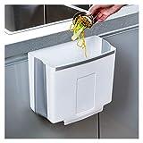 Botes de basura 2.6L La basura de la cocina puede colgar la basura doméstica plegable de la basura de la pared de la pared de la pared de la paredesa...