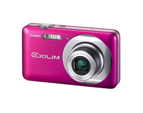 Casio Exilim EX-Z800 Digitalkamera (14 Megapixel, 4-fach opt. Zoom, 27mm Weitwinkel, 6,9 cm (2,7 Zoll) Display, bildstabilisiert) pink