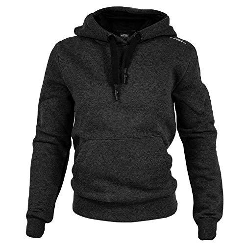 Feflogx Sportswear Damen Hoody | Kapuzen-Pullover | Perfekter Hoodie für Joggen, Fitness, Training, Gym & Freizeit | Sport-Pullover | Kapuzenpulli